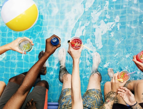 Stay Hydrated With A DIY Pool Cooler